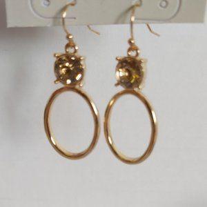 *3/$20* 14th & Union gold tone drop earrings